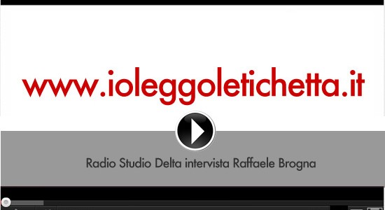 Radio Studio Delta intervista Raffaele Brogna