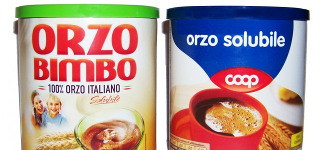Orzo Bimbo e Orzo solubile Coop