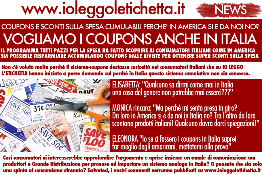 Buoni sconto expert for Buoni coupon